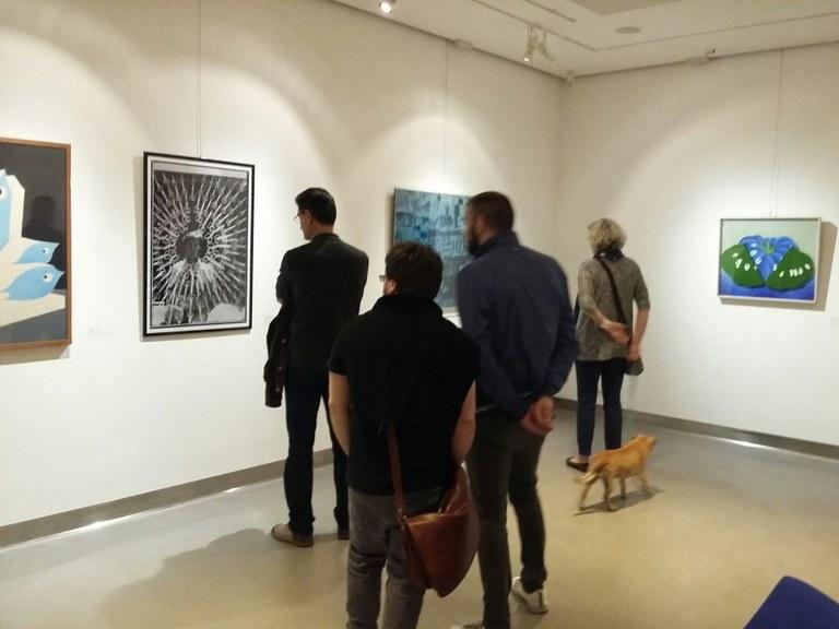 Foto  In  visita all'esposizione