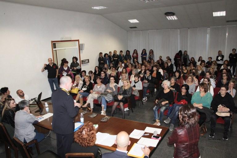 Foto  La sala rossa in Municipio