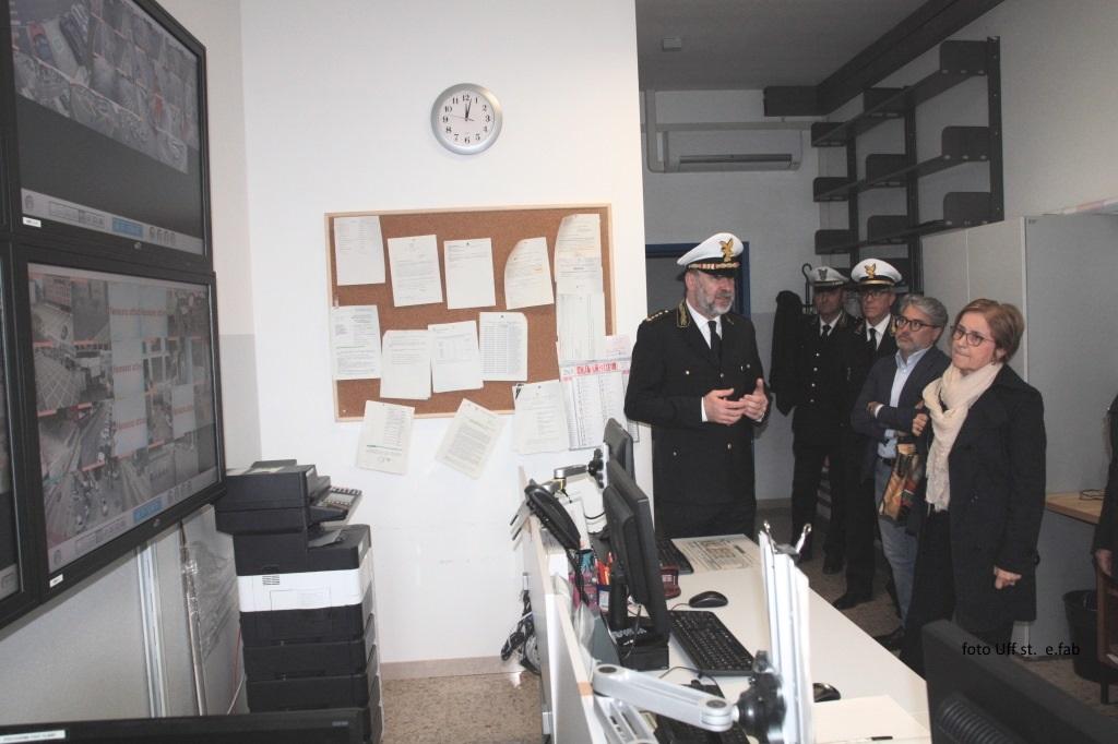 Foto In  centrale operativa