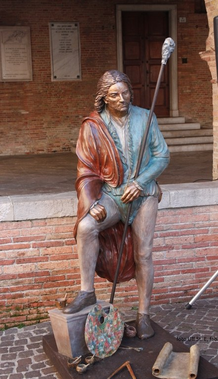 Foto  La scultura bronzea