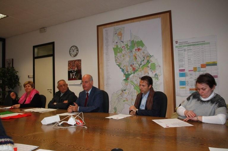 Foto Conferenza stampa in Municipio