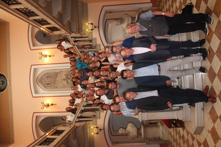 Foto   Il gruppo in Municipio