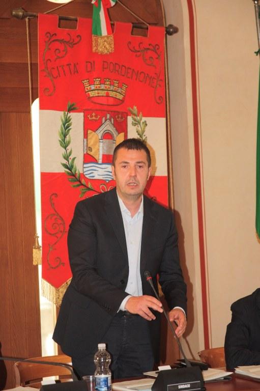 Foto Il Giuramento del sindaco Alessandro Ciriani