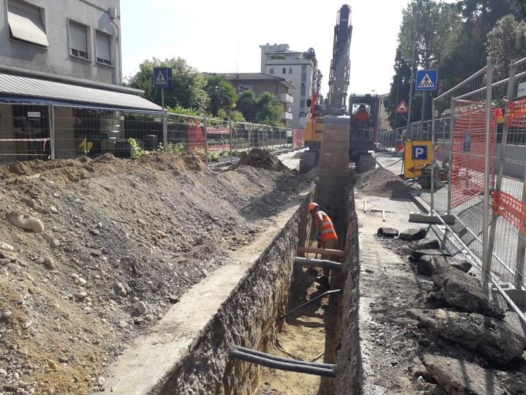 Foto  Interventi di scavo