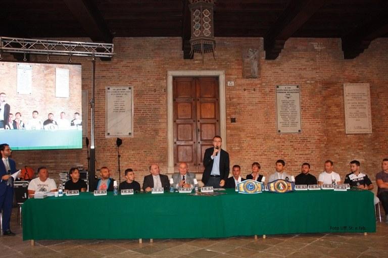 Foto Conferenza stampa nella Loggia comunale