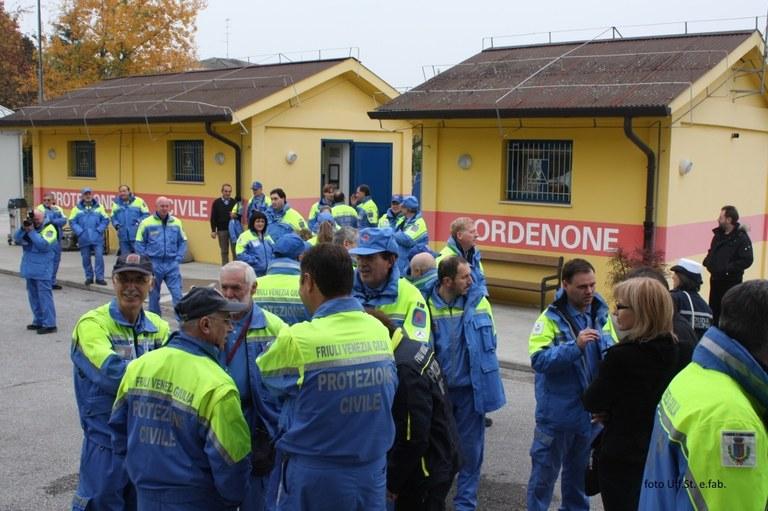 Foto Volontari della Protezione civile