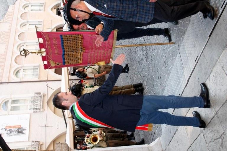 Il sindaco Alessandro Ciriani riceve il Medagliere in Municipio