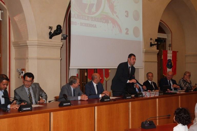 Foto      La presentazione della cerimonia
