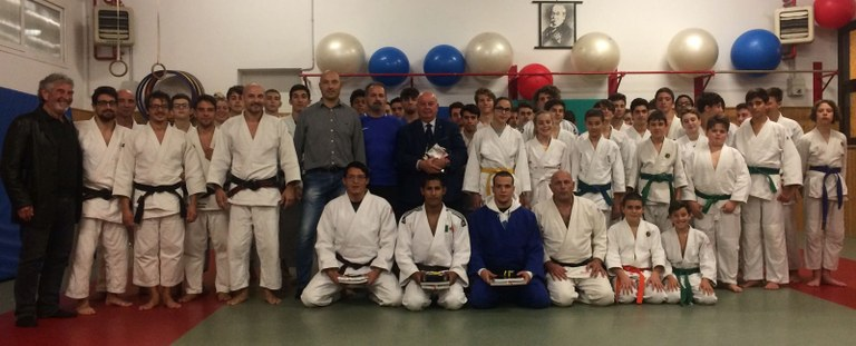 Foto Gruppo di judoka