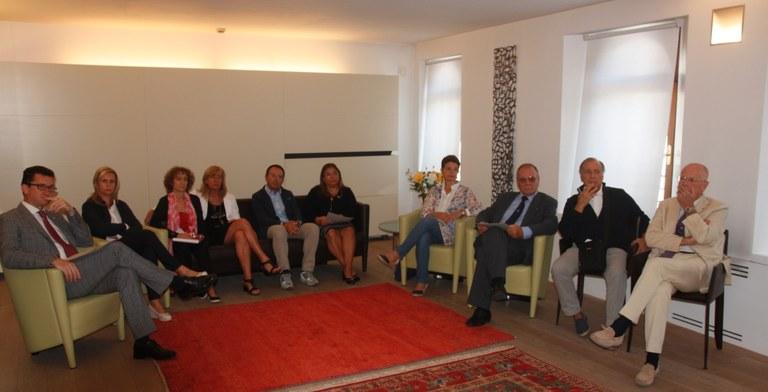 Foto  Soci del Rotary alla presentazione dell'iniziativa