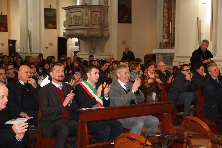 Foto  Autorità assistono al concerto in Duomo