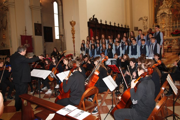 Foto Concerto delle scuole in Duomo