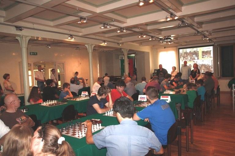 Foto La sala  della Somsi dove si tiene il torneo