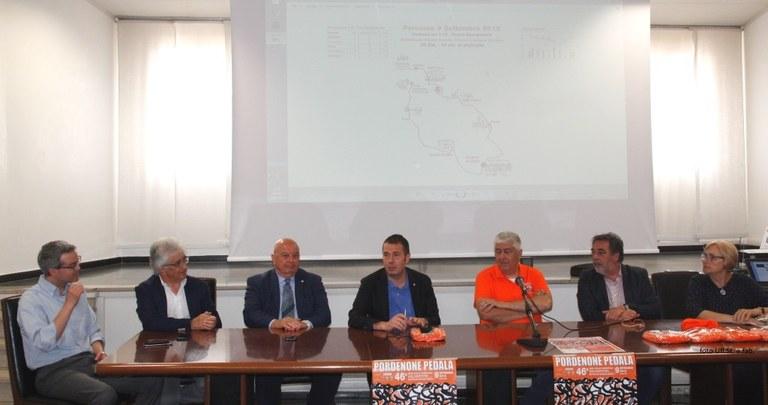 foto I relatori alla Conferenza stampa