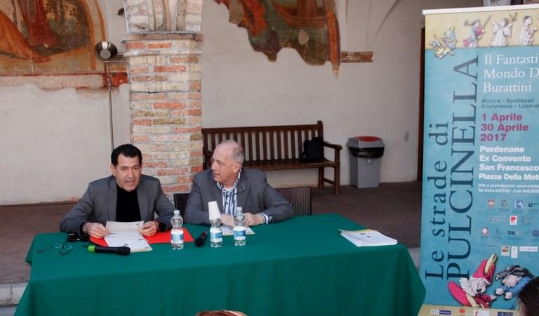 Foto  Comune e Ortoteatro; i promottori