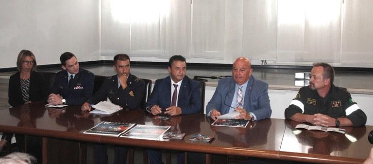 Foto La conferenza stampa in Municipio
