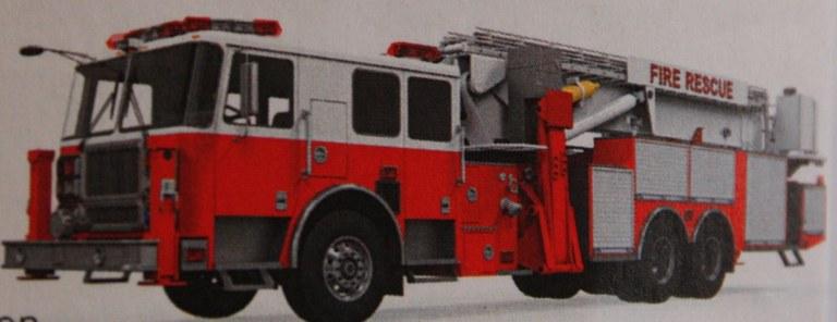 Foto Un mezzo dei Vigili del fuoco USA