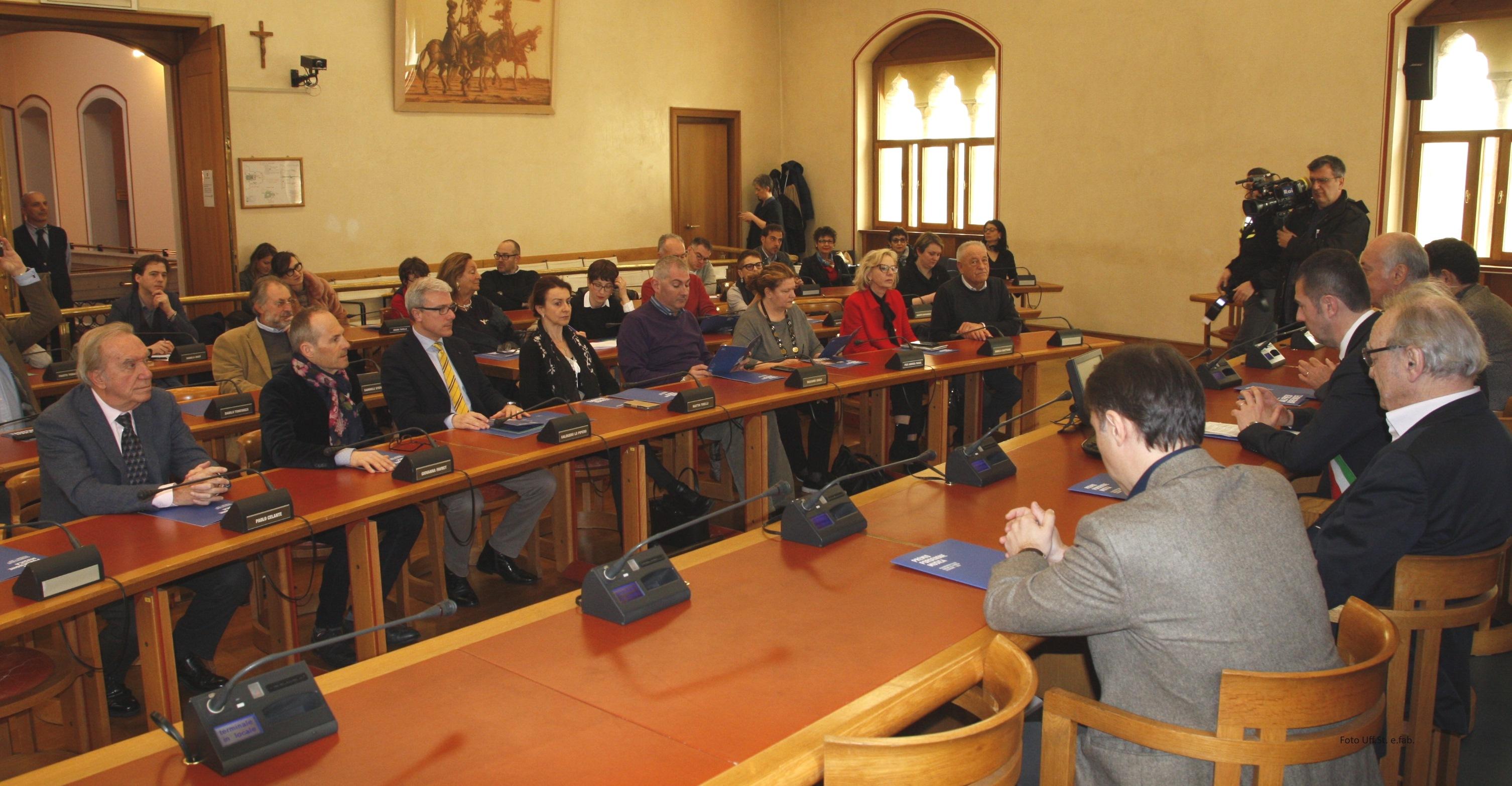 Foto La sala  consiliare