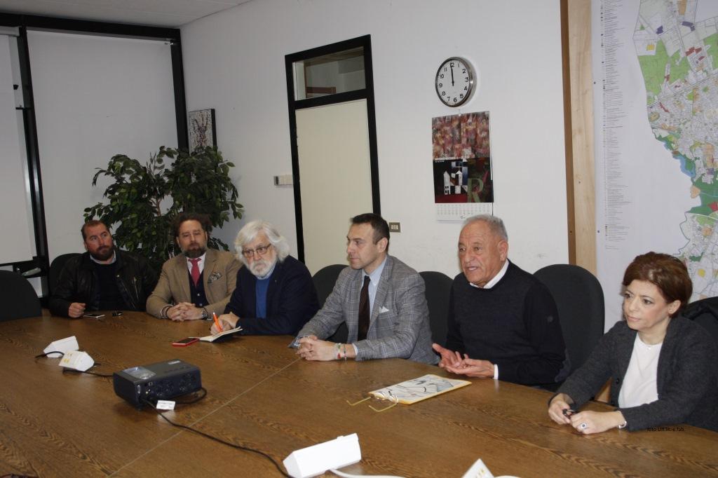 Foto La conferenza stampa