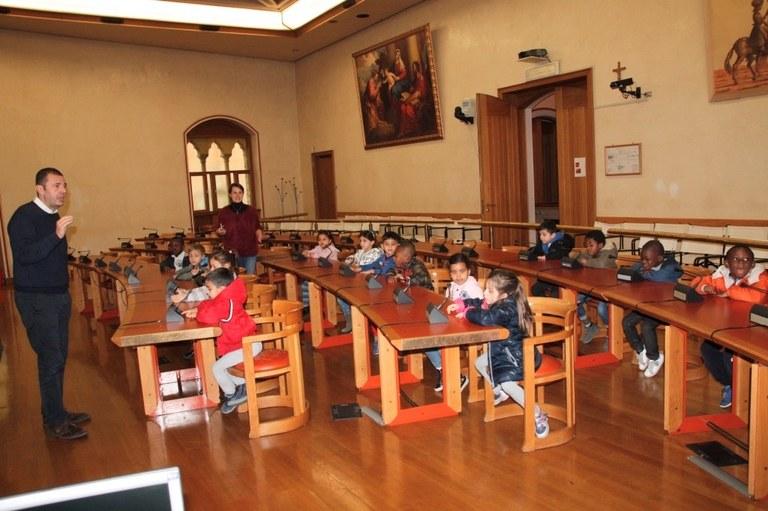 Foto  In sala consiliare