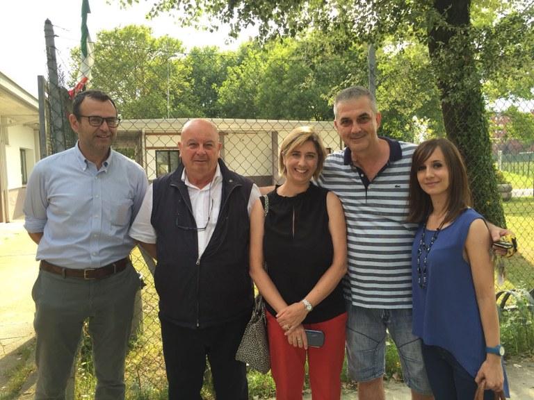 Foto   Assessori e gestori della struttura di Villanova