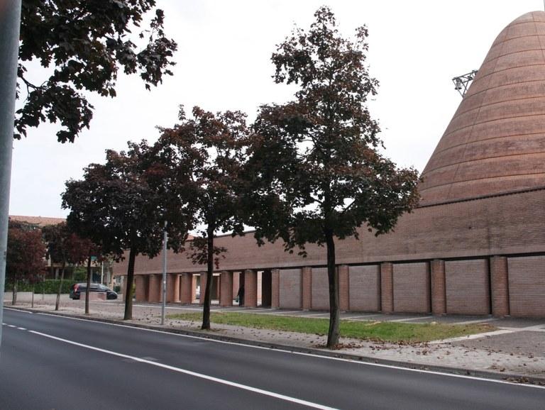 Intervento nei pressi della chiesa Beato Odorico