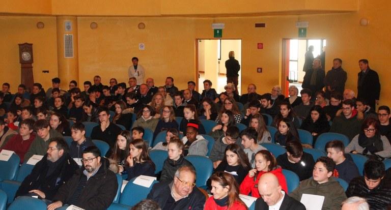Studenti al convegno