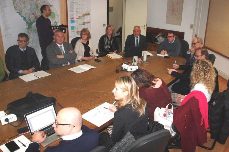 La conferenza stampa in Municipio