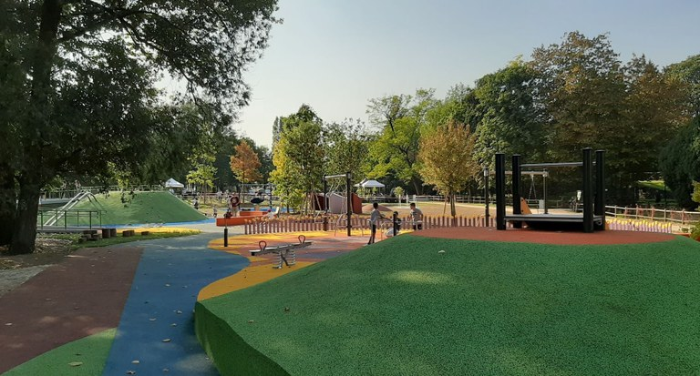Area giochi inclusivi