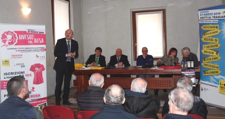 Conferenza stampa in Comune