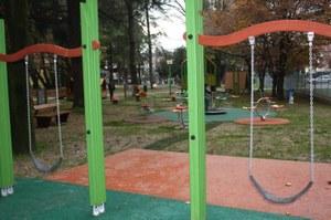 Giochi al parco Galvani