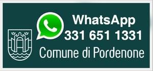 Whatsapp del Comune di Pordenone: numero 331 651 1331