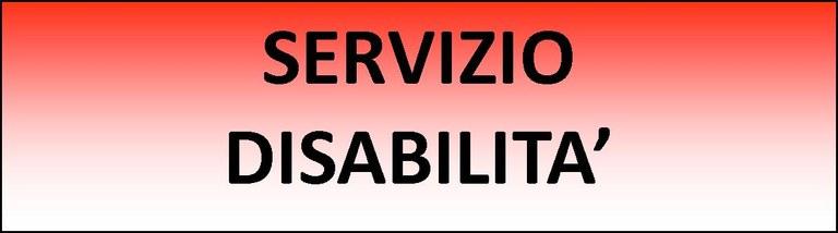 Logo disabilità