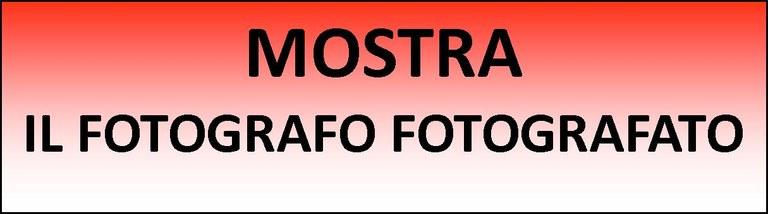 Logo il fotografo fotografato