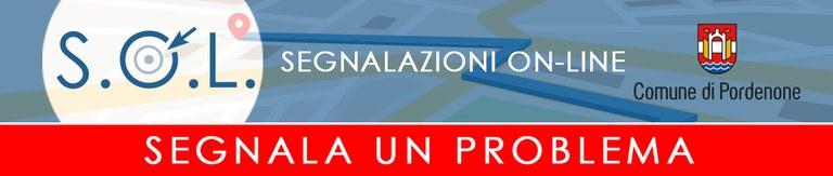 SOL - Segnalazioni On Line - Banner