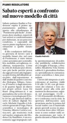 Messaggero Veneto del 13 settembre 2012, pagina 18