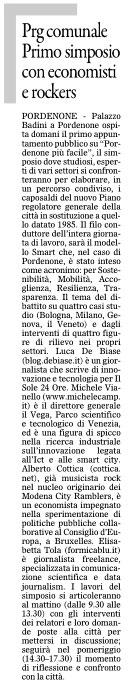 Il Gazzettino del 14 settembre 2012, pagina III