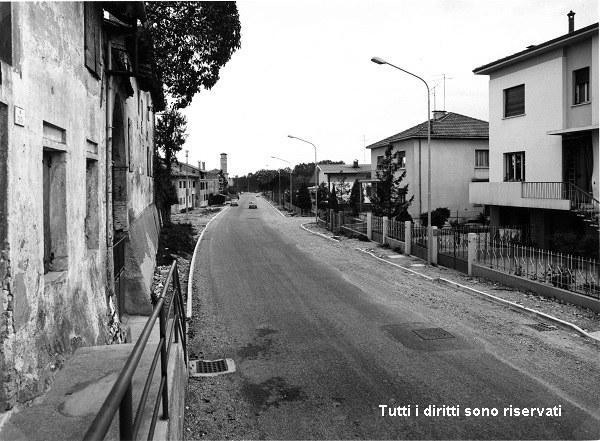 Lavori in via San Giuliano - anni '70