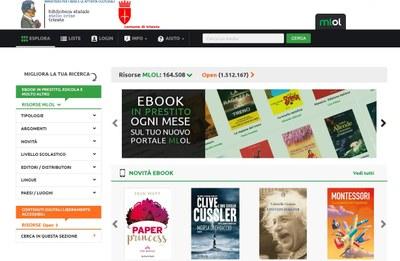 La biblioteca digitale MediaLibraryOnLine.