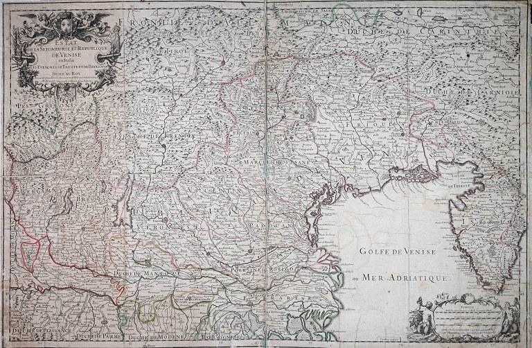 L'Estat de Venise del francese Alexis-Hubert Jaillot. 1705