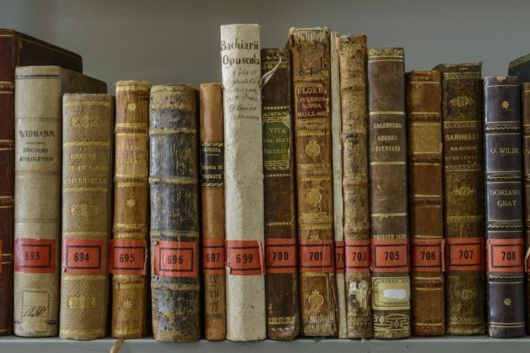 Libri antichi lascito conte Porcia