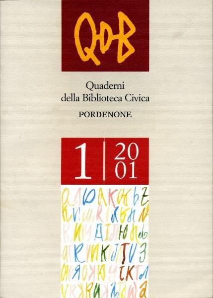 QDB 1-2001 [Esaurito]