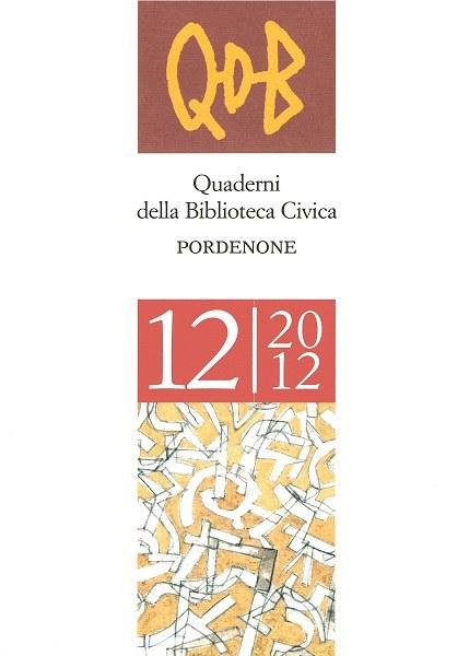 QDB 12-2012  [Esaurito]