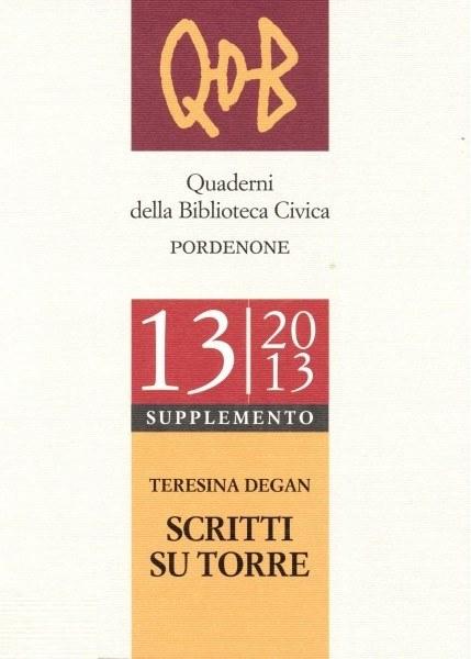 QDB 13-2013 Supplemento  [Esaurito]