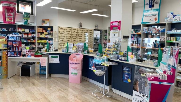 Interno Farmacia Cappuccini
