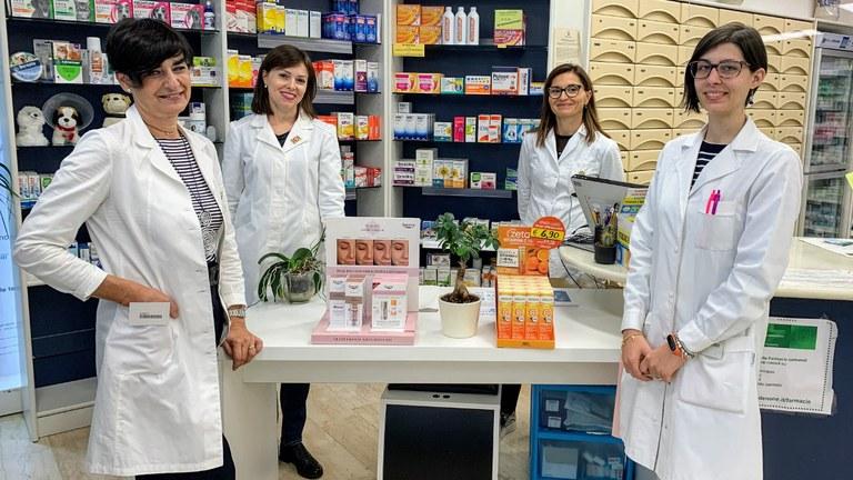 Staff farmacia Cappuccini