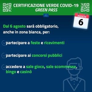 Spiegazioni su certificazione verde