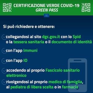 Spiegazione su certificazione verde