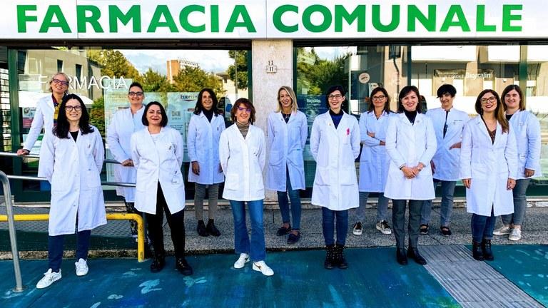 Staff farmacie comunali