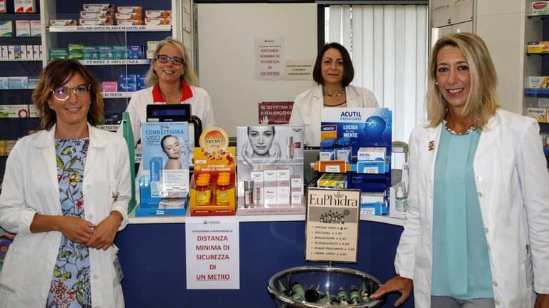 Staff farmacia Grigoletti